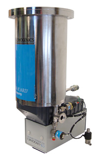 "CTI CRYOGENICS CRYOGENIC VACUUM PUMP 2700 HOURS, 8"" CF"