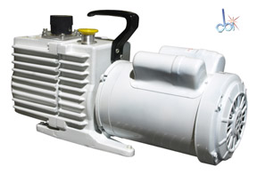 LEYBOLD ROTARY VANE MECHANICAL VACUUM PUMP 7 CFM