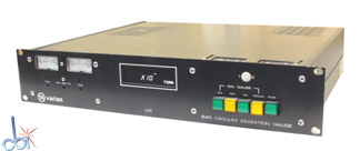 VARIAN ION/DUAL THERMOCOUPLE GAUGE CONTROLLER