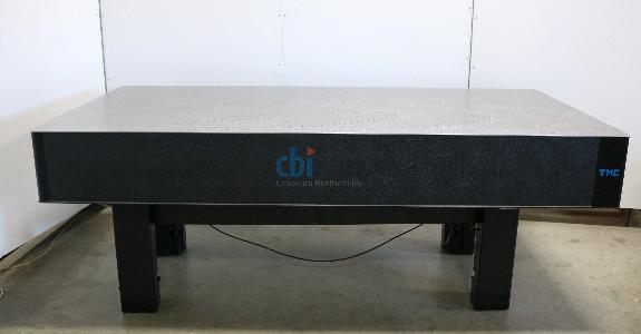 "TMC OPTICAL TABLE 4' X 8' X 12"" ACTIVE ISOLATION BASE"