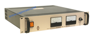 GLASSMAN HIGH VOLTAGE POWER SUPPLY, -10 kV