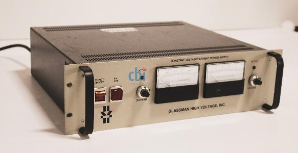 GLASSMAN HIGH VOLTAGE POWER SUPPLY, +/- 5 kV