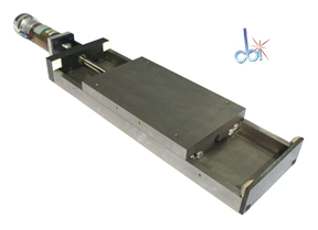 "MOTORIZED LINEAR STAGE, 7.25"" TRAVEL"