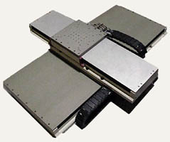 AEROTECH WIDE BASE XY LINEAR MOTOR STAGE