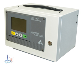 DELTA F CORPORATION FAH0500 PROCESS OXYGEN ANALYZER